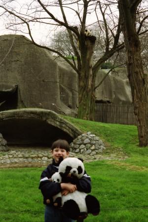 1992 04 12 Zoo de Vincennes - Jeroen Jacobs & Yen Yen